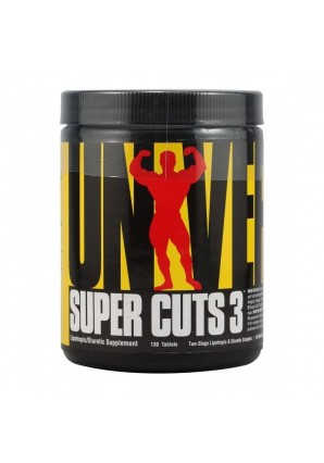 Universal Nutrition Super Cuts 3 130 капс