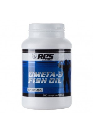 RPS Nutrition Омега-3 Fish Oil 200 капс