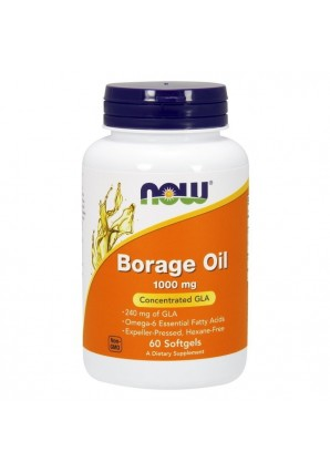 NOW Borage Oil 1000 мг 60 капс