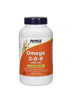 NOW Omega 3-6-9 1000 мг 250 капс