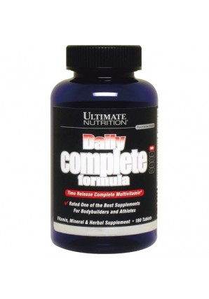 Ultimate Nutrition Daily complete formula 180 табл
