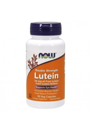 NOW Lutein Double Strength 20 мг 90 капс