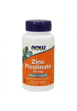NOW Zinc Picolinate 50 мг 120 капс
