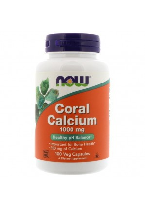 NOW Coral Calcium 100 капс