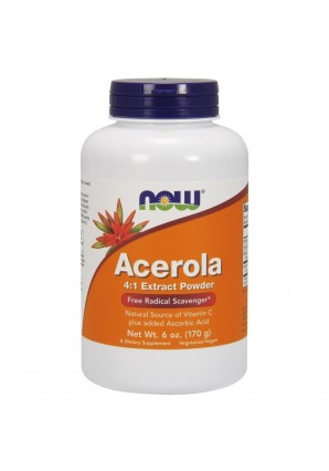 NOW Acerola Powder 170 гр 6 oz