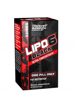 Nutrex Lipo 6 Black Ultra Concentrate 60 капс.