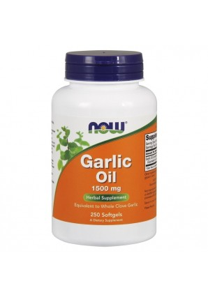 NOW Garlic Oil 1500 мг 250 капс