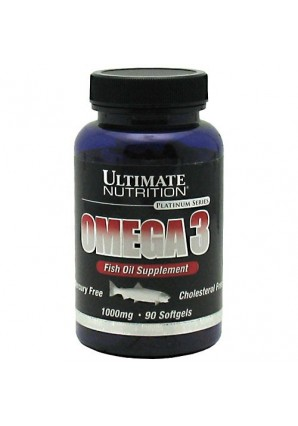 Ultimate Nutrition Omega 3 1000 мг 90 капс