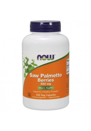 NOW Saw Palmetto Berries 550 мг 250 капс
