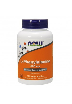 NOW L-Phenylalanine 500 мг 120 капс