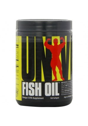 Universal Nutrition Fish Oil 100 капс