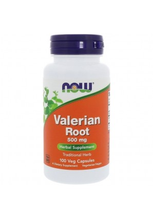 NOW Valerian Root 500 мг 100 капс