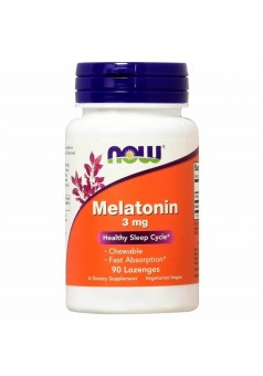 NOW Melatonin 3 мг 90 жев.табл.