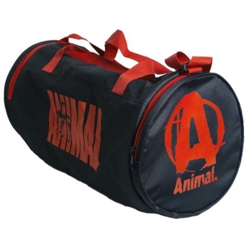 bb44ea2cdda6 ... Спортивная сумка Animal, красная надпись (Universal Nutrition)