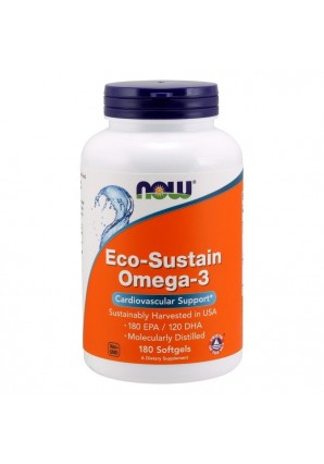 Eco-Sustain Omega-3 180 капс (NOW)