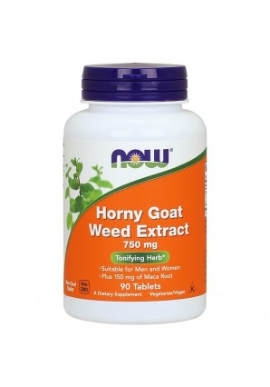 Horny Goat Weed Extract 750 мг 90 табл (NOW)