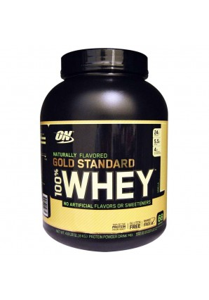 100% Whey Gold Standard NATURAL 2180 гр - 4.8lb (Optimum nutrition)