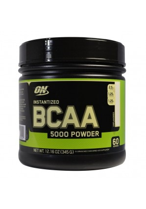 BCAA 5000 Powder - 345 гр. (Optimum nutrition)