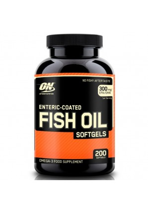 Fish Oil Softgels 200 капс. (Optimum Nutrition)