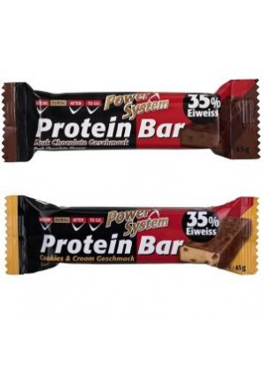 Protein Bar 45 гр 24 шт (Power System)