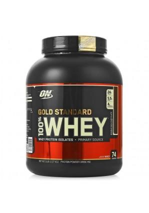 100% Whey Gold standard 2270 гр - 5lb USA (Optimum nutrition)