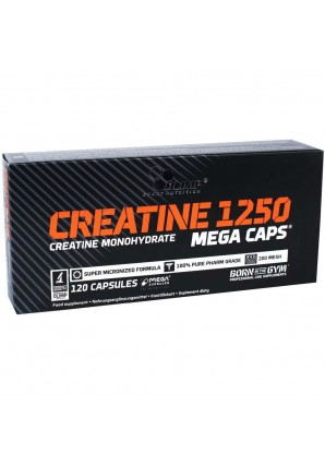 Creatine Mega Caps 120 капс (Olimp)