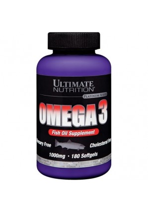 Omega 3 1000 мг 180 капс. (Ultimate Nutrition)