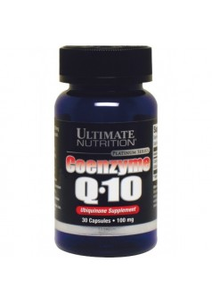 Ultimate Nutrition Coenzyme Q10 100% Premium 100 мг 30 капс