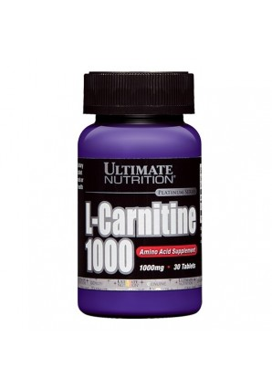 L-carnitine 1000 30 табл. (Ultimate Nutrition)